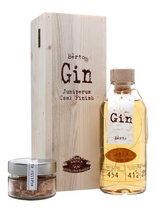 Gin Berto Juniperus Cask Finish / Quaglia
