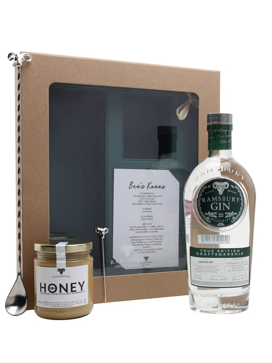 Ramsbury Single Estate Gin Bees Knees Gift Set