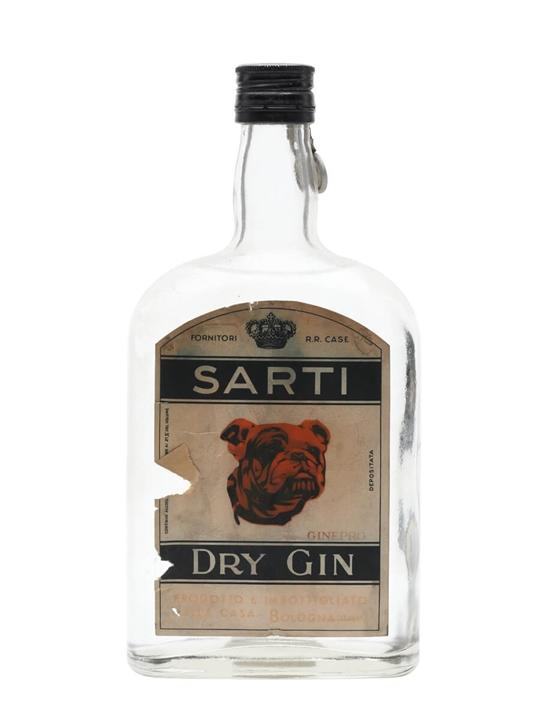 Sarti Dry Gin / Bot.1950s