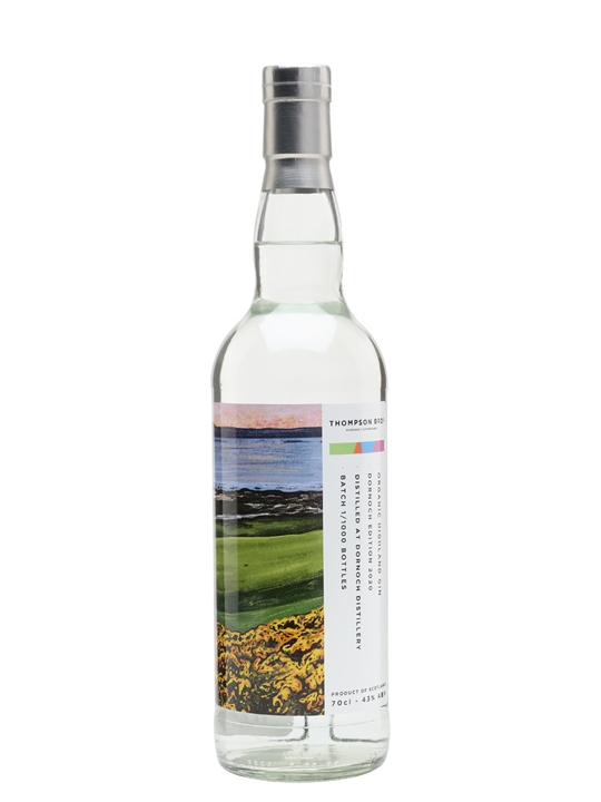 Thompson Bros Dornoch Edition Organic Gin 2020