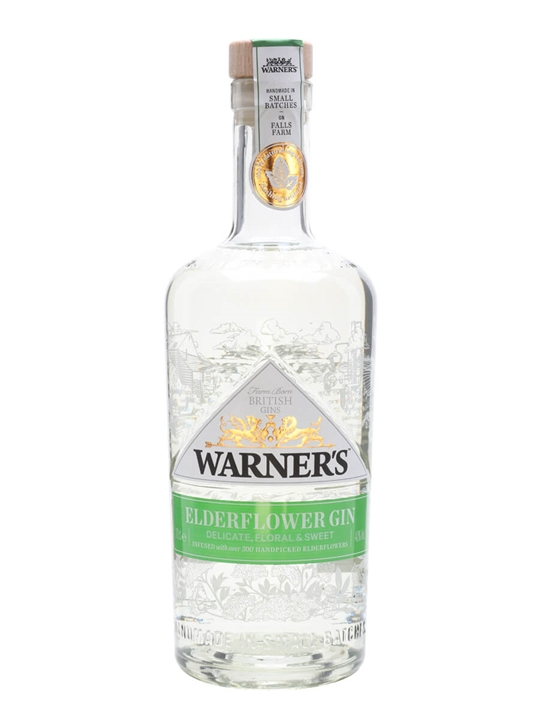 Warner Edwards Elderflower Infused Gin 70cl