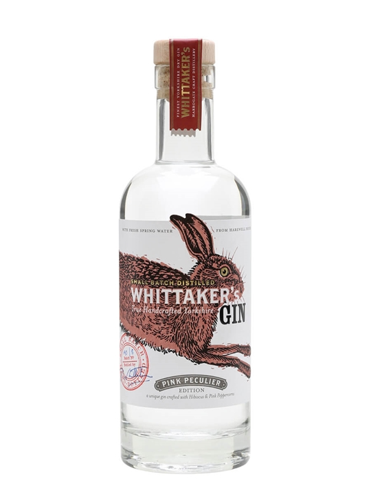 Whittaker's Pink Peculier Gin / Half Litre