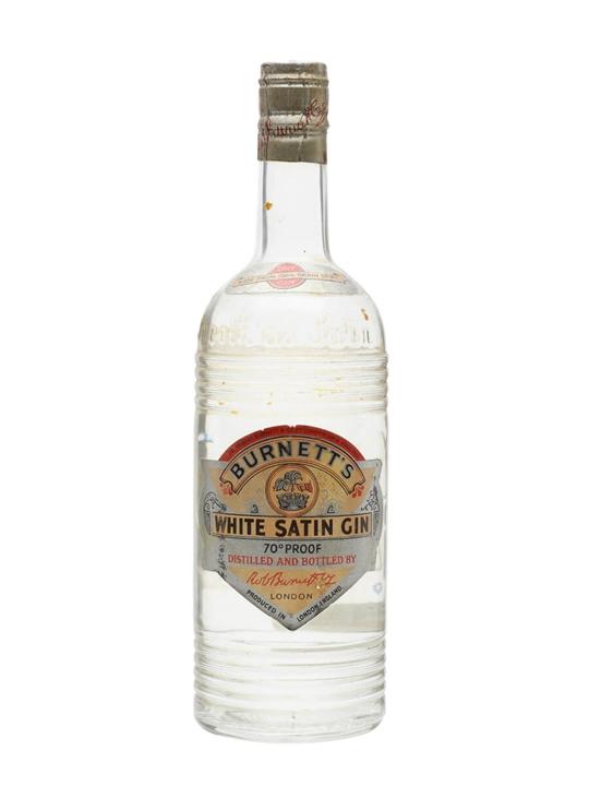 Burnett's White Satin Gin / Bot.1950s