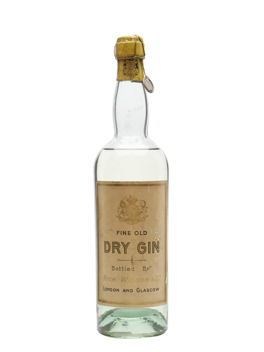 Fine Old Dry Gin / Bot.1930s / Wilson & Co.