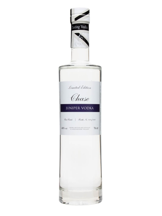Chase Single Botanical Gin / Juniper Vodka