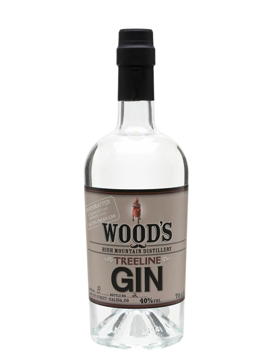Wood's High Mountain Treeline Gin