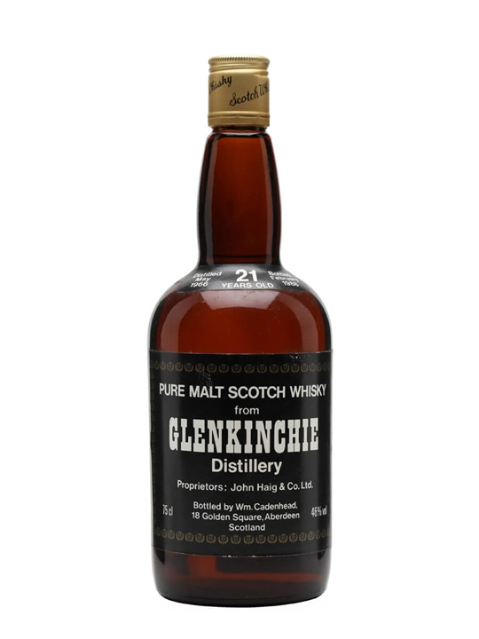 Glenkinchie 1966 / 21 Year Old / Cadenhead's Lowland Whisky