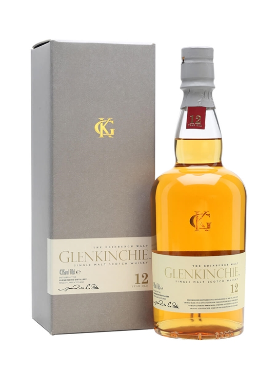 Glenkinchie 12 Year Old Lowland Single Malt Scotch Whisky
