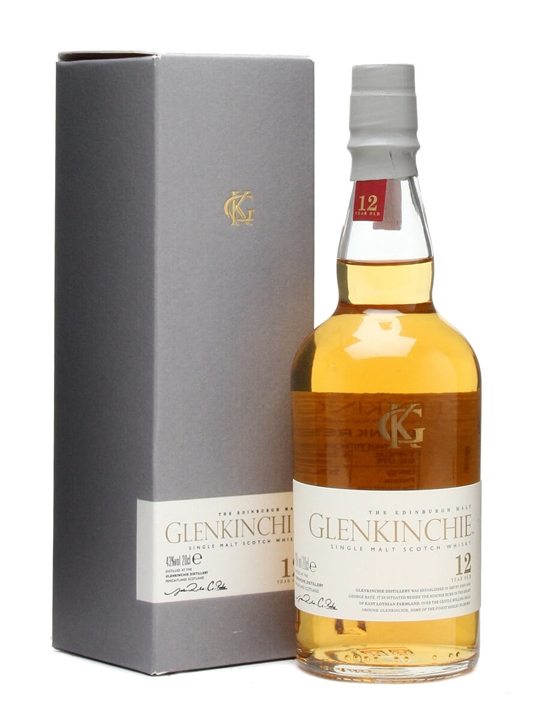Glenkinchie 12 Year Old / Small Bottle Lowland Whisky
