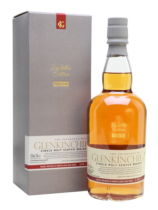 Glenkinchie 2005 / Distillers Edition Lowland Whisky