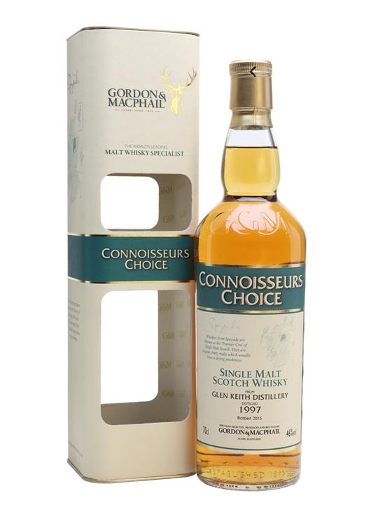 Glen Keith 1997 / Bot.2015 / Connoissuers Choice Speyside Whisky