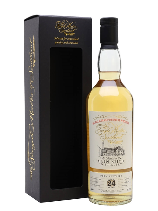 Glen Keith 1995 / 24 Year Old / Single Malts of Scotland Speyside Whisky
