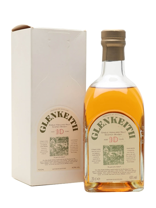 Glen Keith 10 Year Old Speyside Single Malt Scotch Whisky