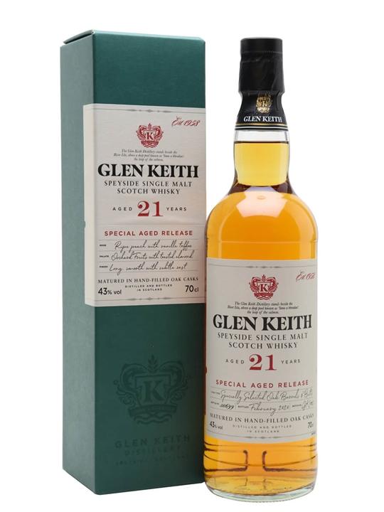 Glen Keith 21 Year Old / Secret Speyside Speyside Whisky