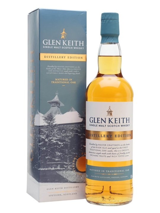 Glen Keith Distillery Edition Speyside Single Malt Scotch Whisky