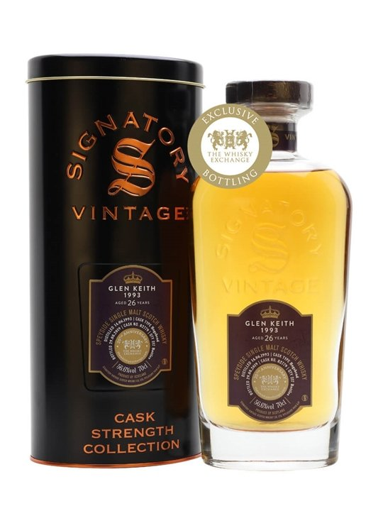 Glen Keith 1993 / 26 Year Old / Signatory for TWE Speyside Whisky