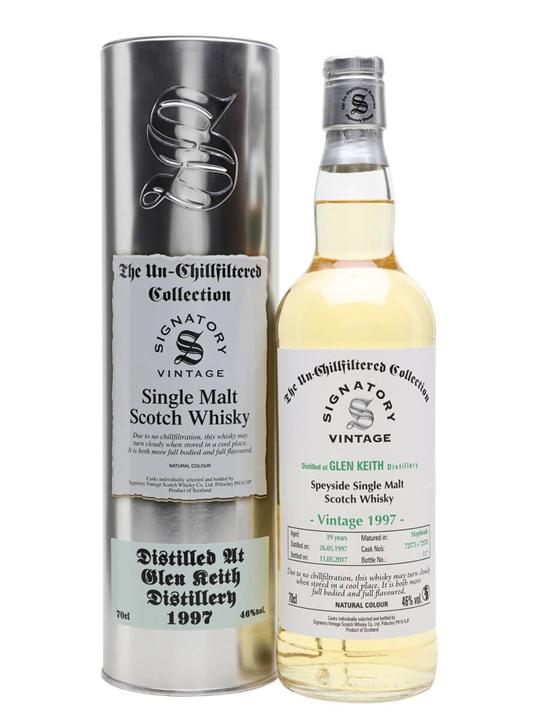 Glen Keith 1997 / 19 Year Old / Signatory Speyside Whisky