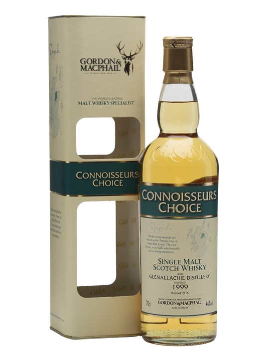 Glenallachie 1999 / Bot.2015 / Connoisseurs Choice Speyside Whisky