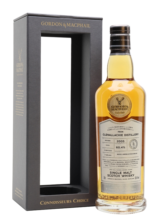 Glenallachie 2005 / 13 Year Old / Connoisseurs Choice Speyside Whisky