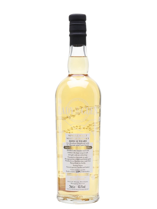 Glenallachie 2005 / 13 Year Old / Marsala Finish / Lady Of The Glen Speyside Whisky