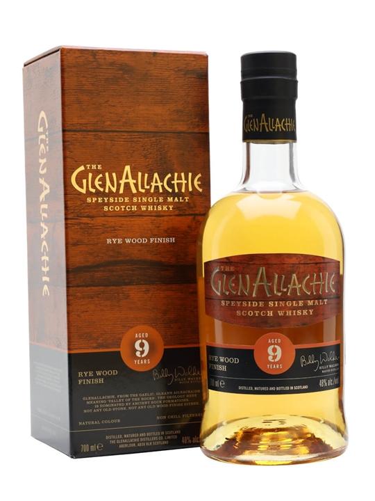 Glenallachie 9 Year Old / Rye Cask Finish Speyside Whisky