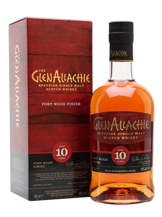 Glenallachie 10 Year Old / Port Wood Finish Speyside Whisky