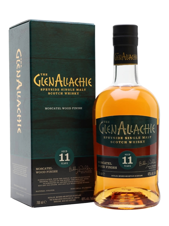Glenallachie 11 Year Old / Moscatel Finish Speyside Whisky
