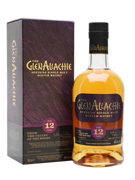 Glenallachie 12 Year Old Speyside Single Malt Scotch Whisky