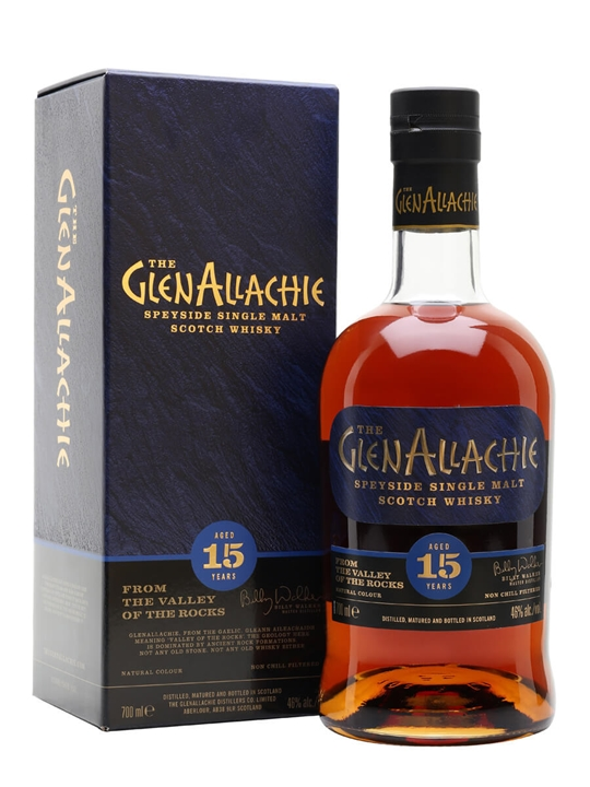 Glenallachie 15 Year Old Speyside Single Malt Scotch Whisky
