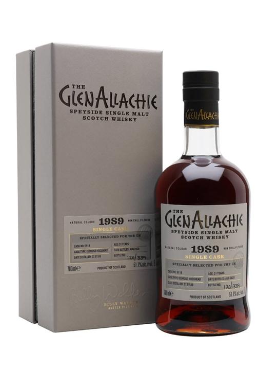 Glenallachie 1989 / 31 Year Old / Oloroso Hogshead Speyside Whisky