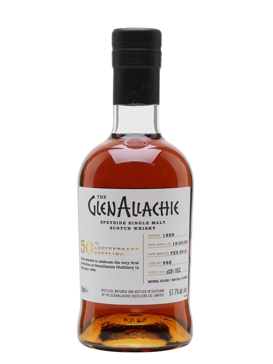 Glenallachie 1989 / 28 Year Old / Sherry Cask Speyside Whisky