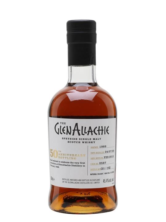 Glenallachie 1989 / Bot.2018 / Sherry Cask Speyside Whisky