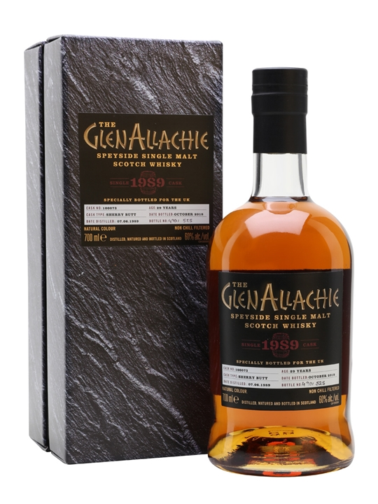 Glenallachie 1989 / 29 Year Old / Single Cask Speyside Whisky