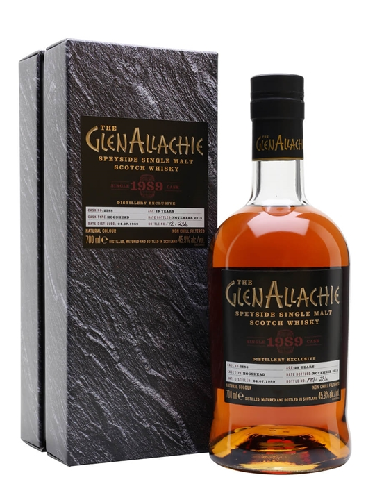 GlenAllachie 1989 / 29 Year Old / Distillery Exclusive Speyside Whisky