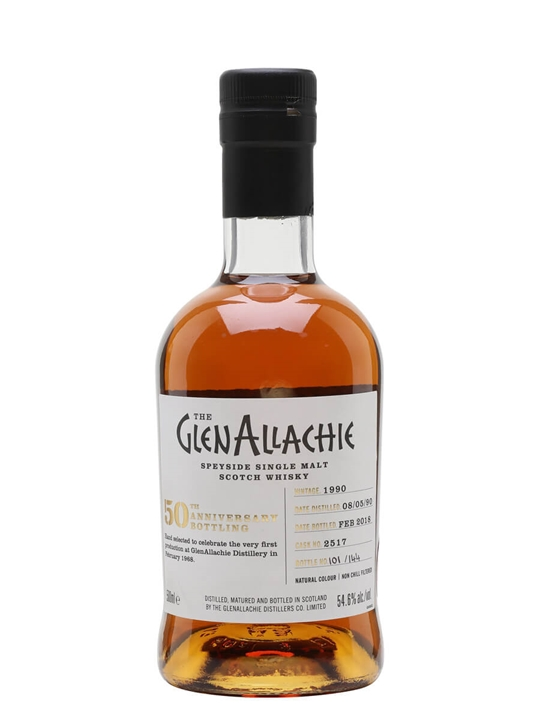 Glenallachie 1990 / 27 Year Old / Sherry Cask Speyside Whisky