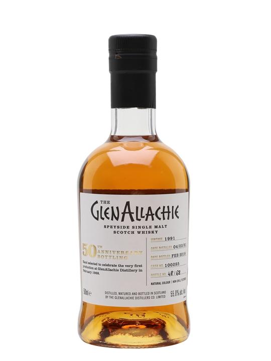Glenallachie 1991 / Bot.2018 / Cask#100285 Speyside Whisky
