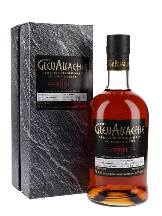 Glenallachie 2001 / 18 Year Old / PX Cask / 55.1% / 70cl Speyside Whisky