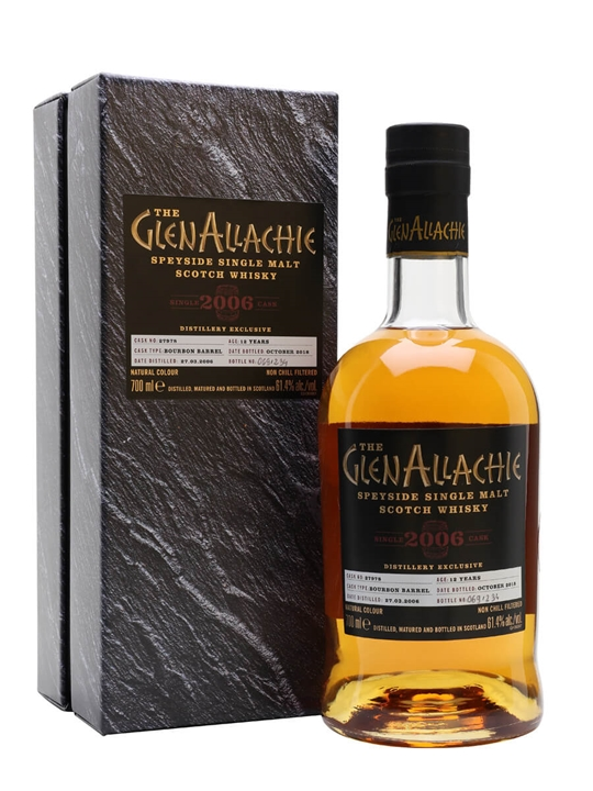 GlenAllachie 2006 / 12 Year Old / Distillery Exclusive Speyside Whisky