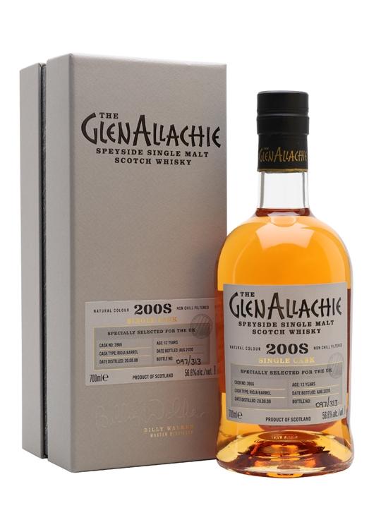 Glenallachie 2008 / 12 Year Old / Rioja Barrel Speyside Whisky