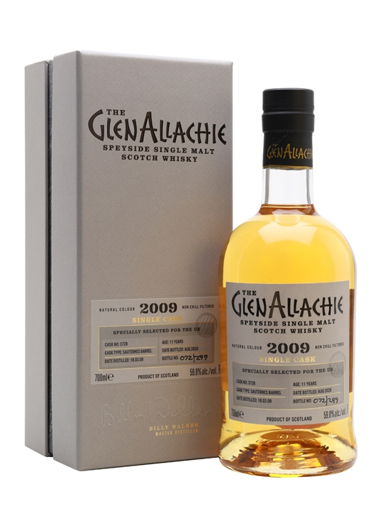 Glenallachie 2009 / 11 Year Old / Sauternes Barrel Speyside Whisky