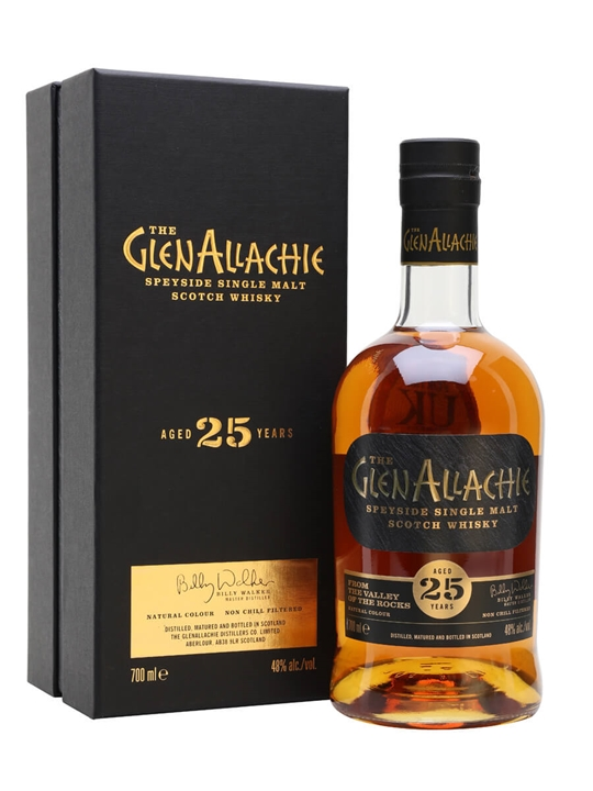 Glenallachie 25 Year Old Speyside Single Malt Scotch Whisky