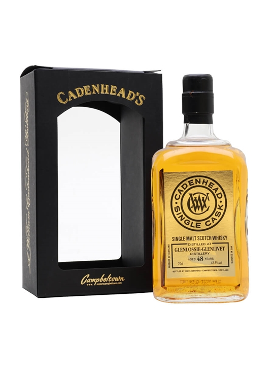 Glenlossie-Glenlivet / 48 Year Old /  Cadenhead's Speyside Whisky
