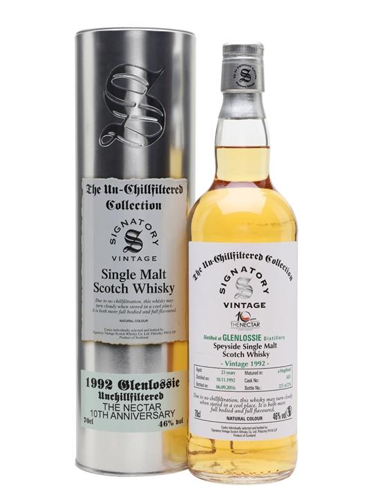 Glenlossie 1992 / 23 Year Old / Nectar 10th Anniversary Speyside Whisky