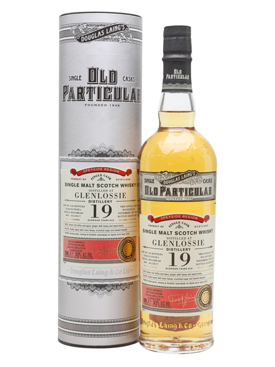 Glenlossie 1997  / 19 Year Old / Old Particular Speyside Whisky