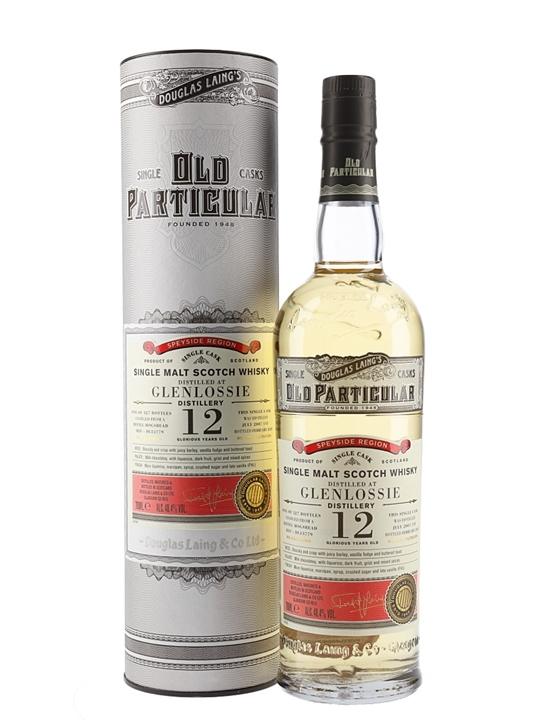Glenlossie 2007 / 12 Year Old / Old Particular Speyside Whisky