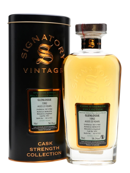 Glenlossie 1992 / 23 Year Old / Cask #3452 / Sig Speyside Whisky