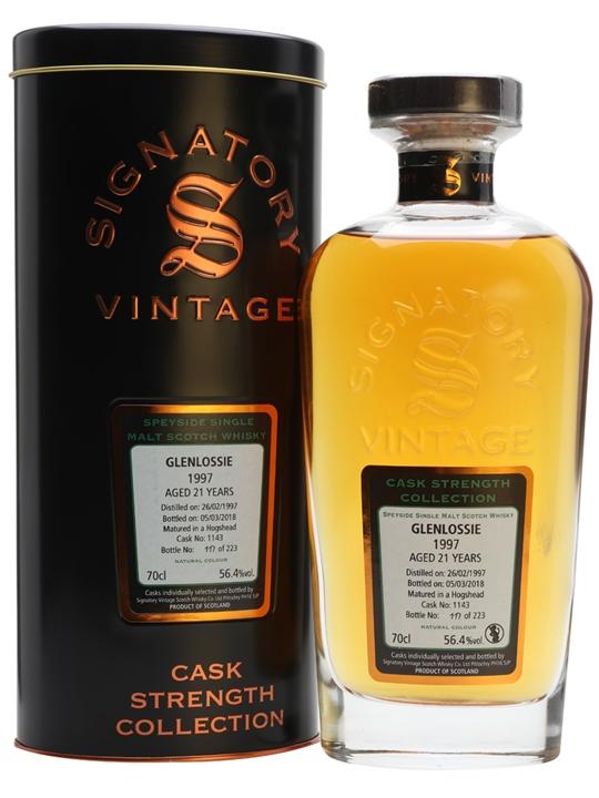 Glenlossie 1997 / 21 Year Old / Signatory Speyside Whisky