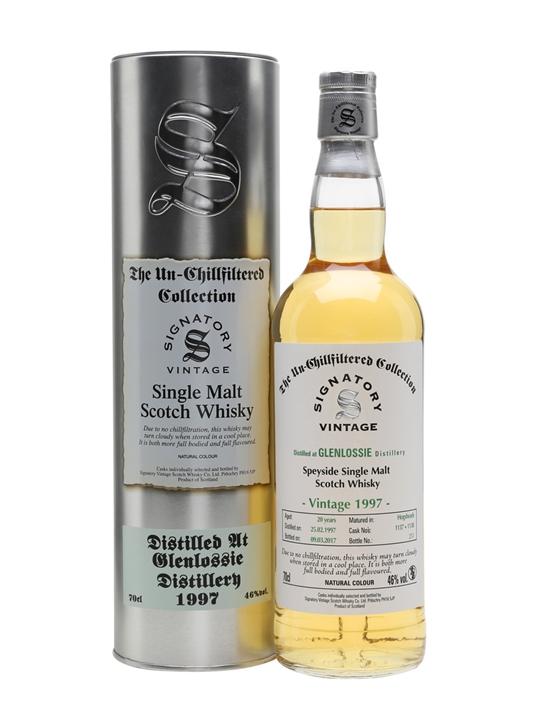 Glenlossie 1997 / 20 Year Old / Signatory Speyside Whisky