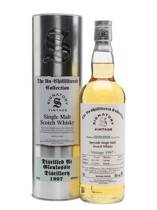 Glenlossie 1997 / 19 Year Old / Signatory Speyside Whisky