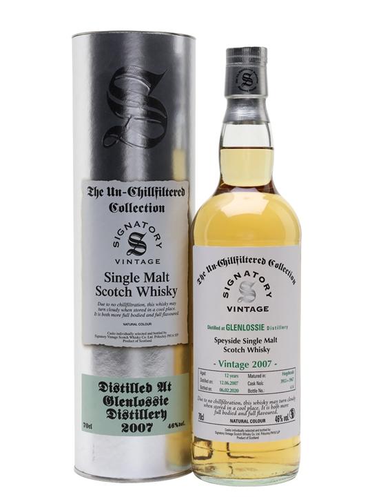 Glenlossie 2007 / 12 Year Old / Signatory Speyside Whisky